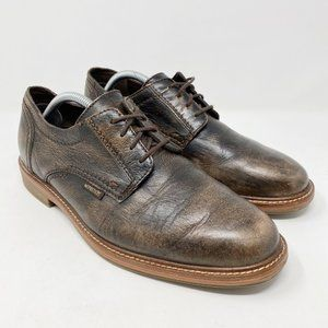 Mephisto Lace Up Leather Oxford Brown Shoes